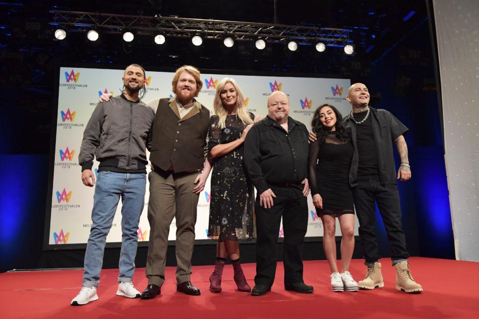 Smygtitta på bidragen i Melodifestivalen 2018 i Malmö