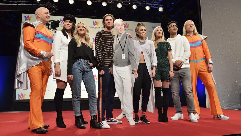 Dagens tider: Bidragsbibeln från Melodifestivalen 2018 i Örnsköldsvik