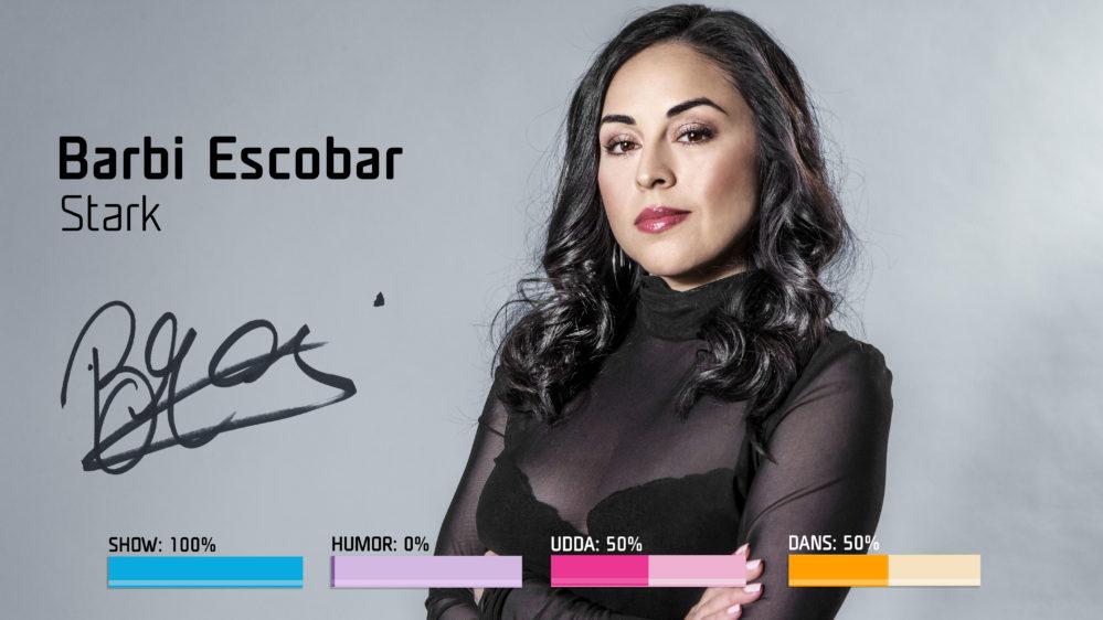 """Inför Melodifestivalen 2018: Därför skrev Barbi Escobar """"Stark"""" – efter dödsfallet"""