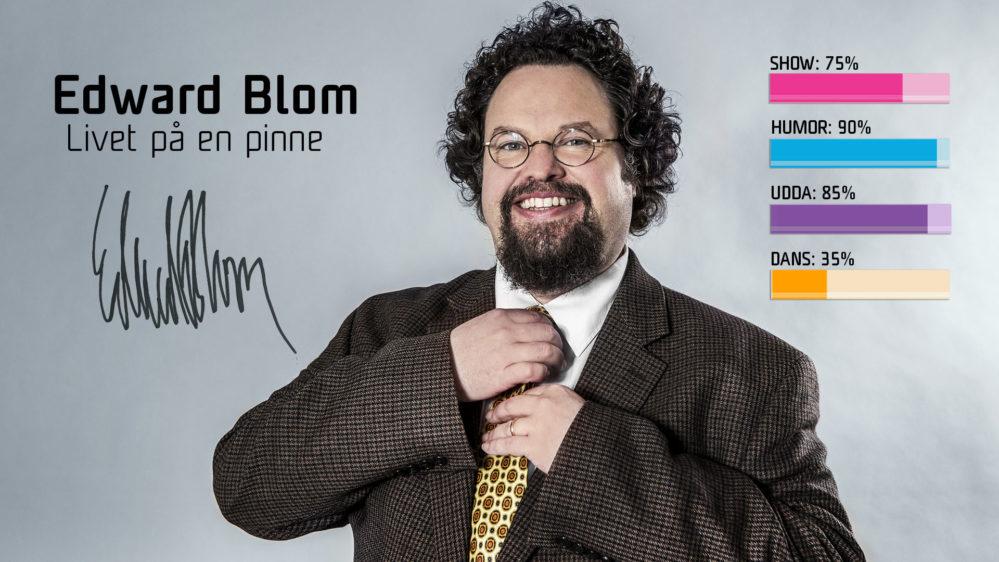 """Bidragsbibeln: Edward Blom med """"Livet på en pinne"""" i Melodifestivalen 2018"""
