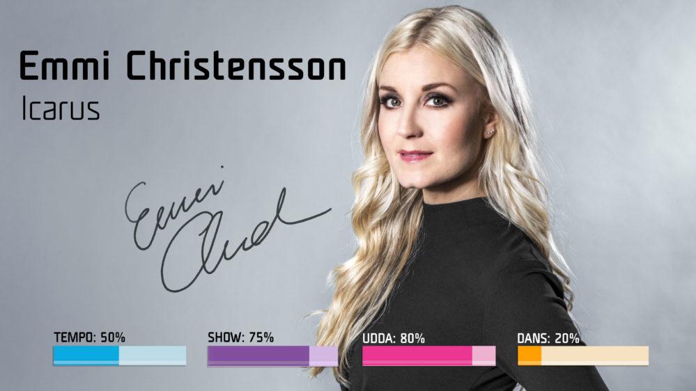 Emmi Christensson vill blanda Loreen och Enya i Melodifestivalen2018