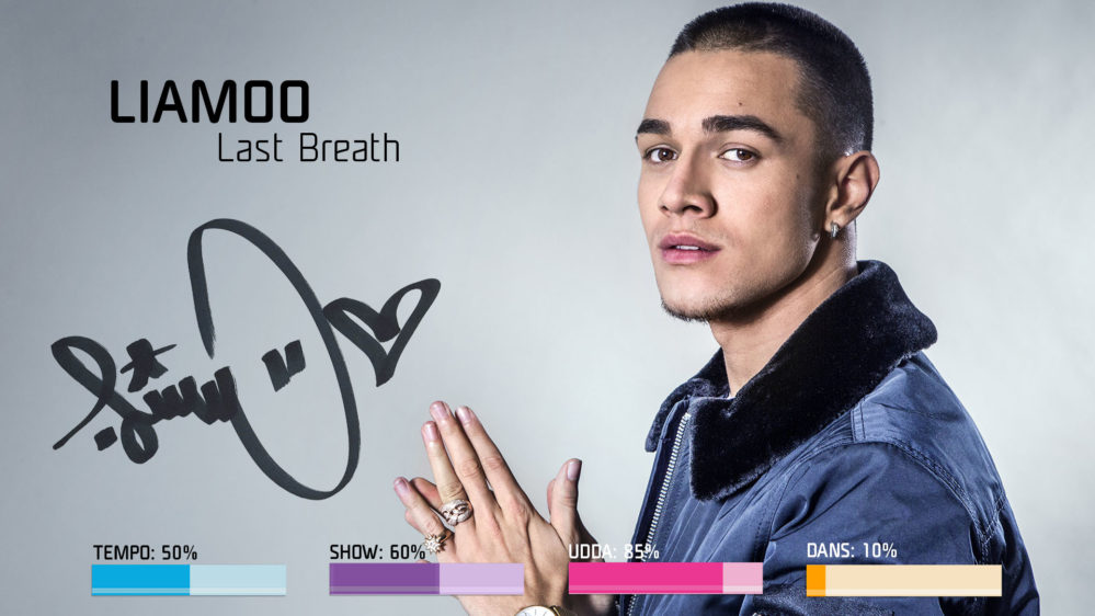 Bidragsbibeln: LIAMOO med Last Breath i Melodifestivalen2018