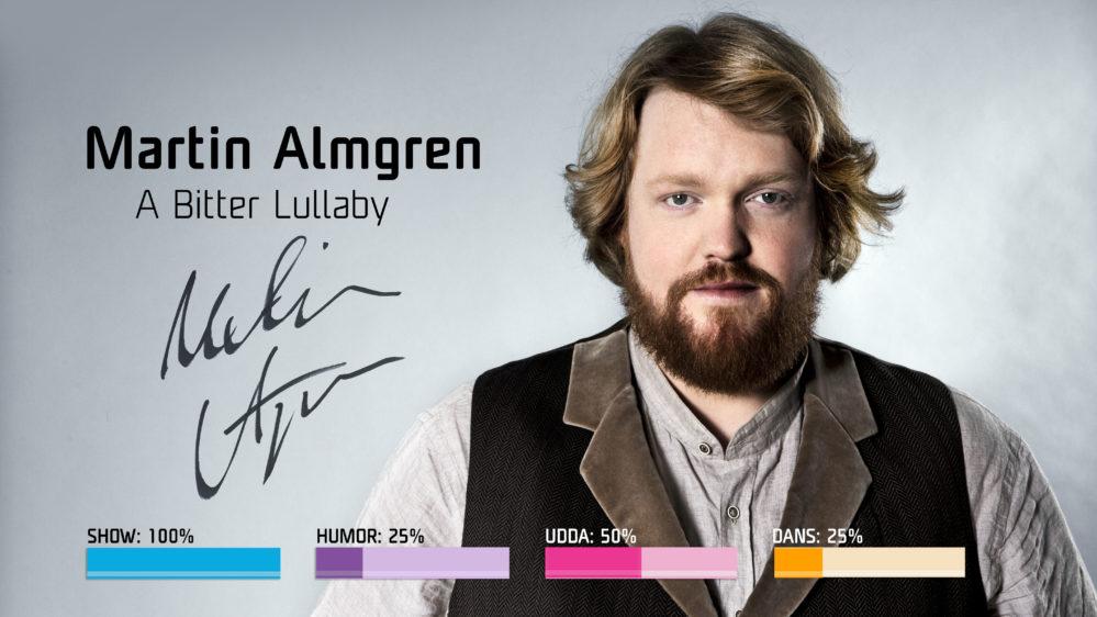 Bidragsbibeln: Martin Almgren med A Bitter Lullaby i Melodifestivalen2018