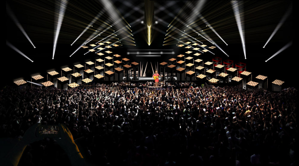 Melodifestivalen får största scenen någonsin2018