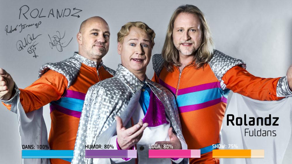 Bidragsbibeln: Rolandz med Fuldans i Melodifestivalen2018