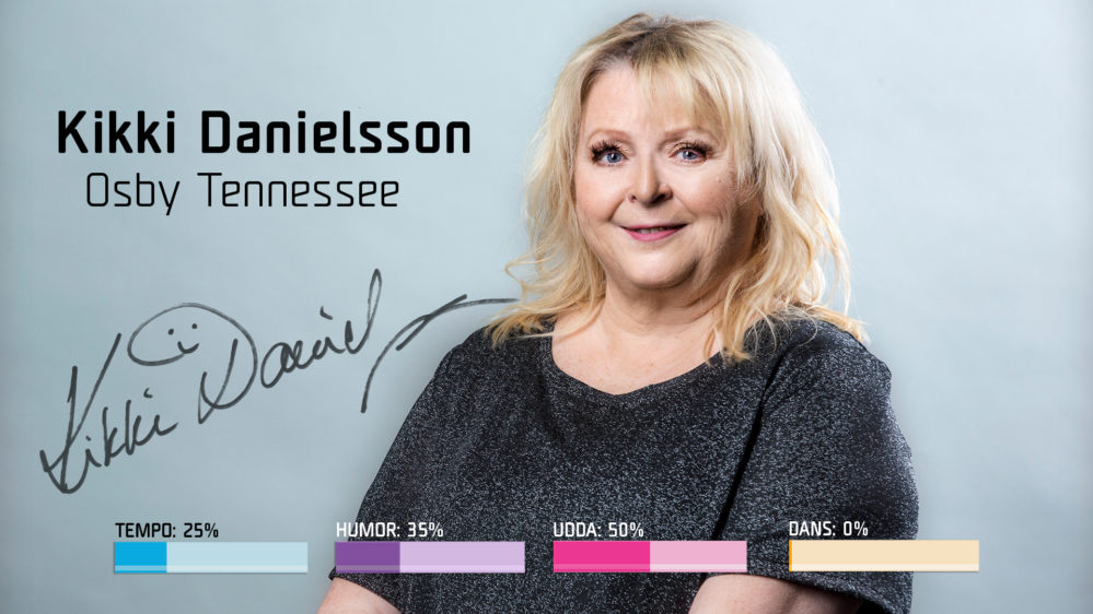 "Bidragsbibeln: Kikki Danielsson med ""Osby Tennessee"" i Melodifestivalen 2018"