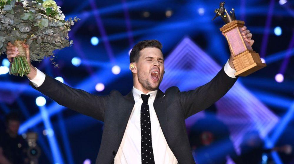 Välkomstfesten förändras och blir folklig i Melodifestivalen2018