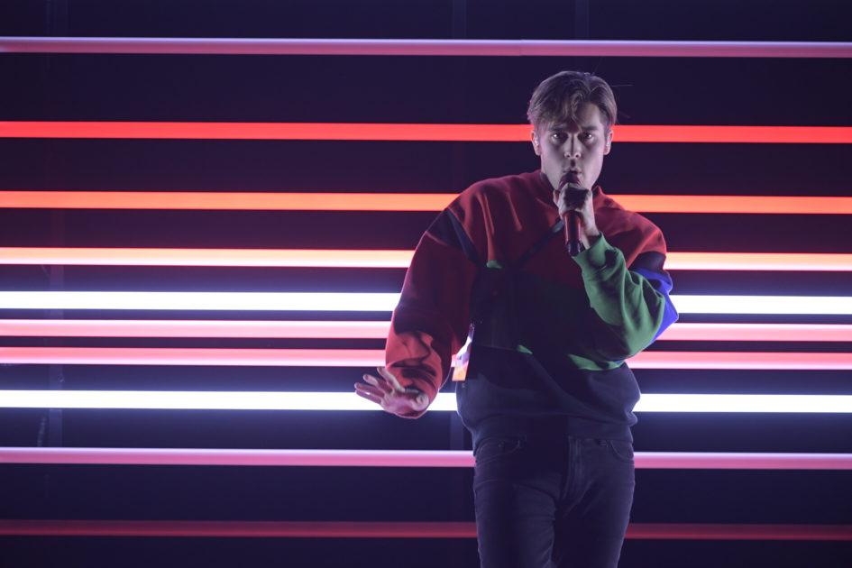 Benjamin Ingrosso skapar en egen musikvideo påscen