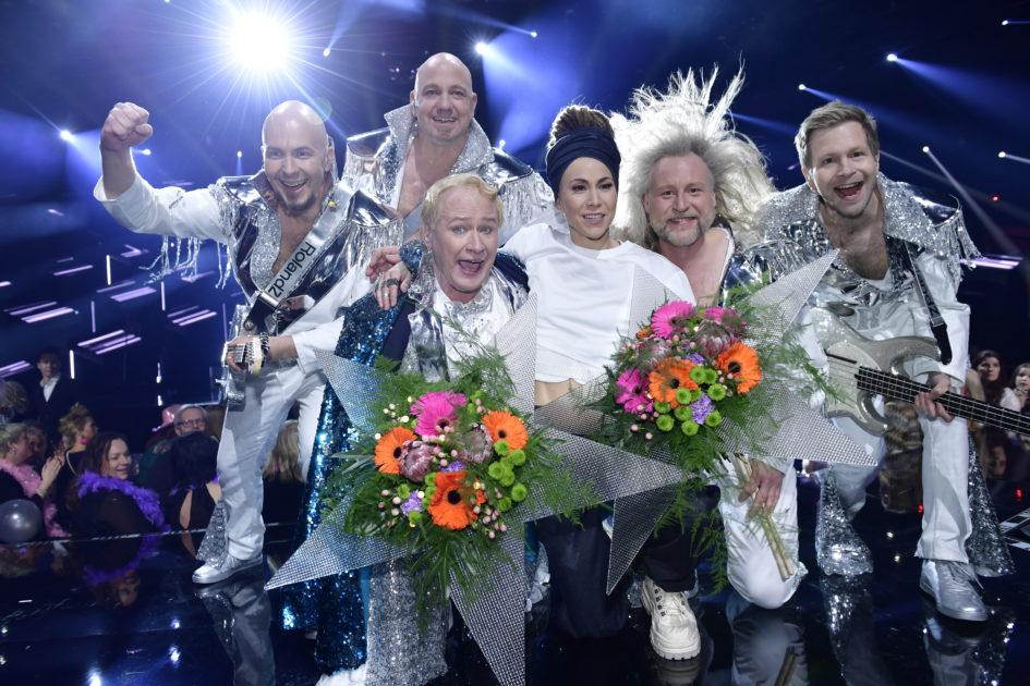 Morgonsvepet söndag: Upplagt för slutspel i Melodifestivalen 2018