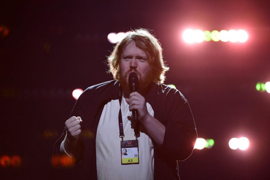 Martin Almgren ska utstråla trygghet på scen i Melodifestivalen2018