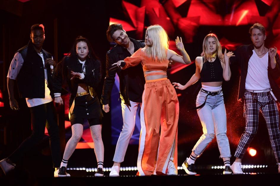 Margaret spolar toaletten – dagens rep inför Melodifestivalen2018