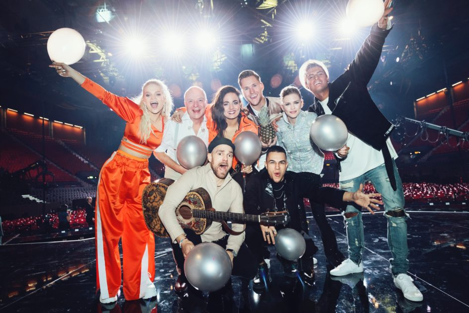 Lyssna på artisternas låtar i Melodifestivalen 2018 i Göteborg