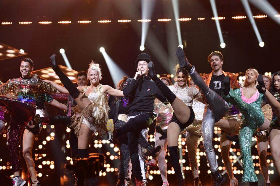 Så tar David Lindgren och Fab Freddie sitt avsked i Melodifestivalen 2018-finalen