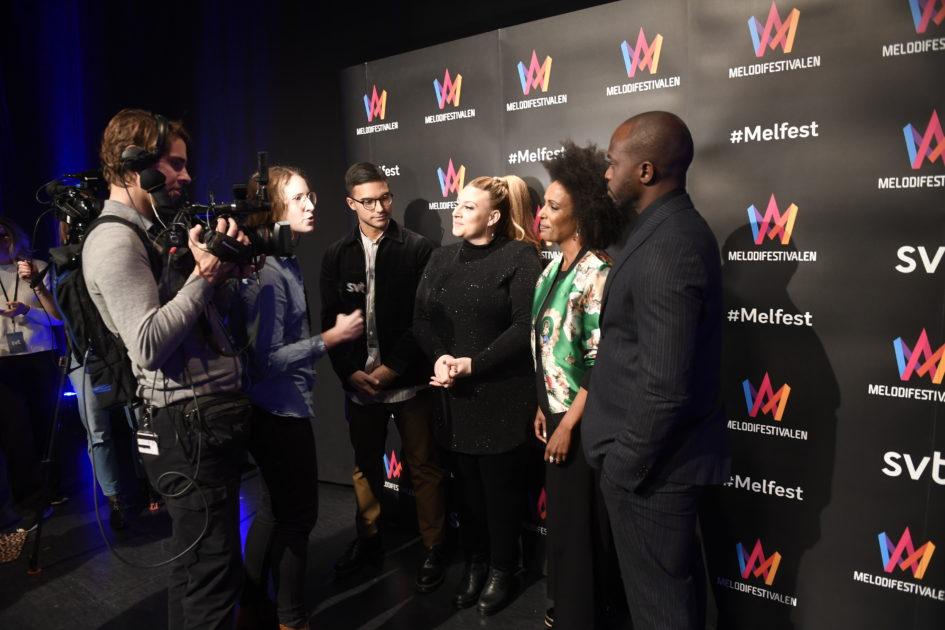 Fyra programledare i Melodifestivalen 2019 – mardröm eller fördel?