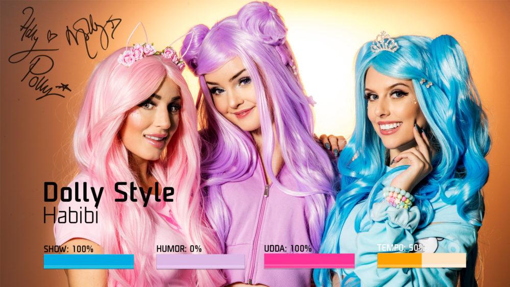 """Bidragsbibeln: Dolly Style med """"Habibi"""" i Melodifestivalen 2019"""