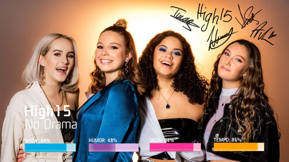 "Bidragsbibeln: High15 med ""No Drama"" i Melodifestivalen 2019"