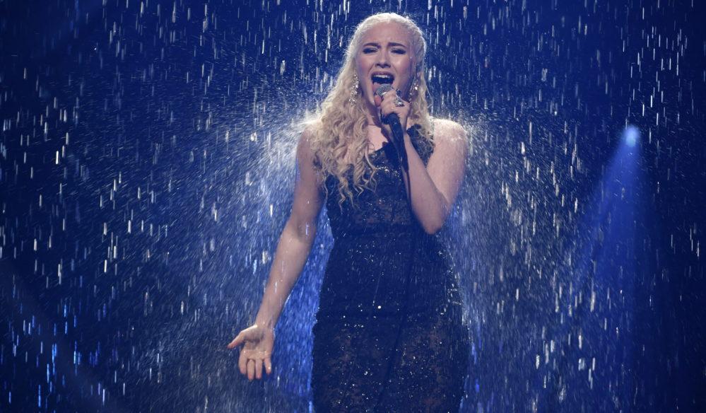 Wiktoria tar tillbaka vattenfallet till Melodifestivalen