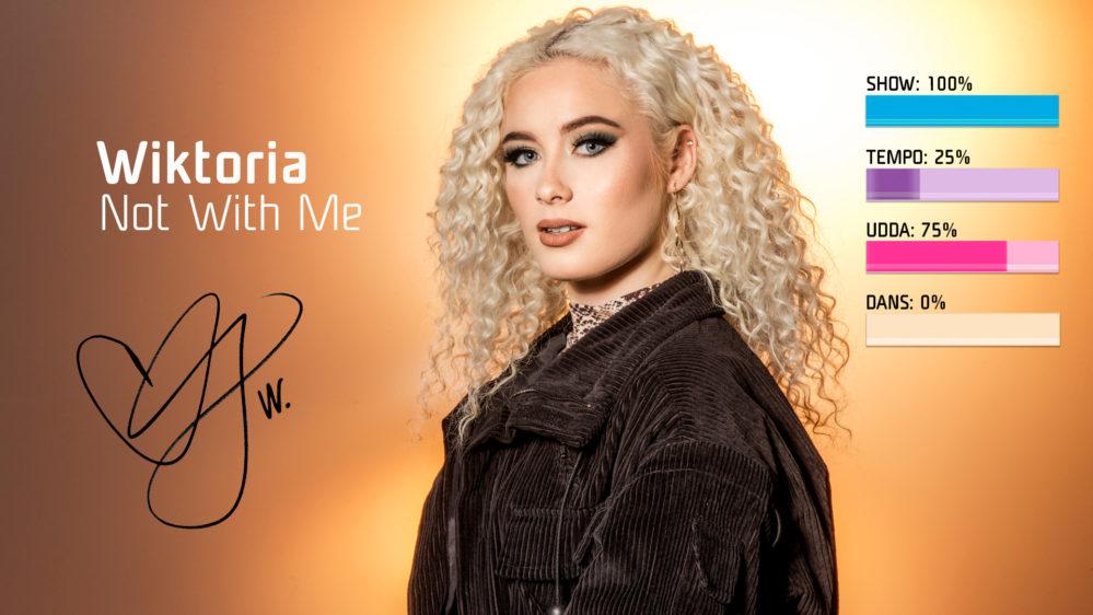 "Bidragsbibeln: Wiktora med ""Not With Me"" i Melodifestivalen 2019"
