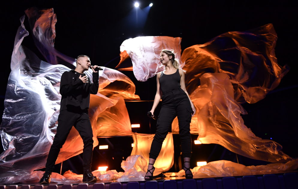 Hanna Ferm & LIAMOO ger mer plast till Melodifestivalen