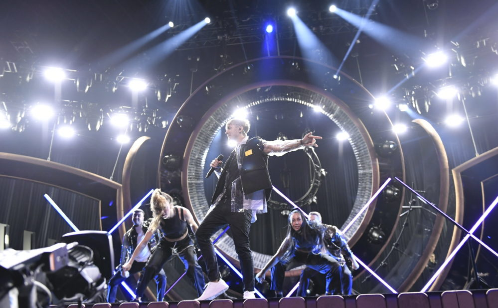 Vlad Reiser utan upptåg i Melodifestivalen 2019