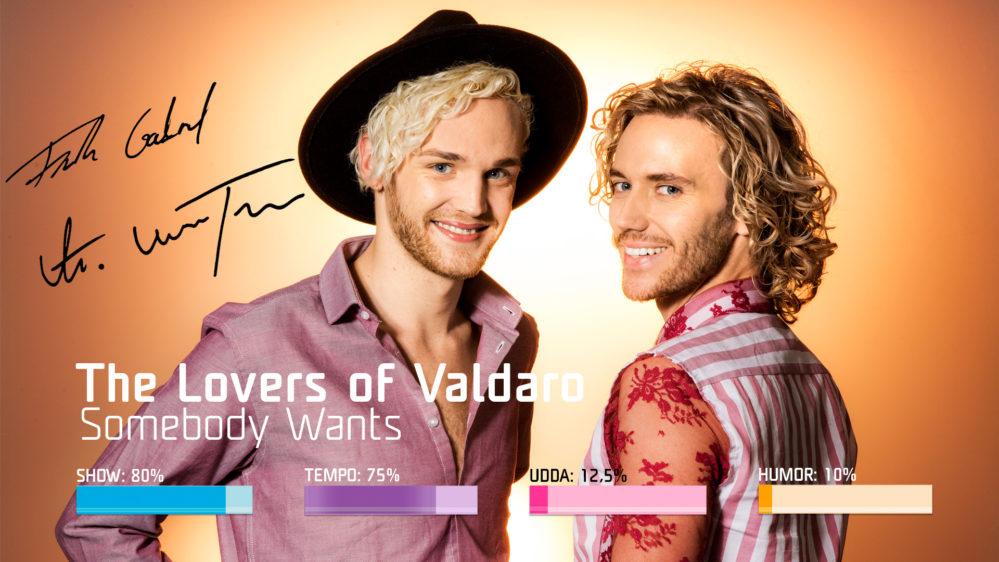 "Bidragsbibeln: The Lovers of Valdaro med ""Somebody Wants"" i Melodifestivalen 2019"