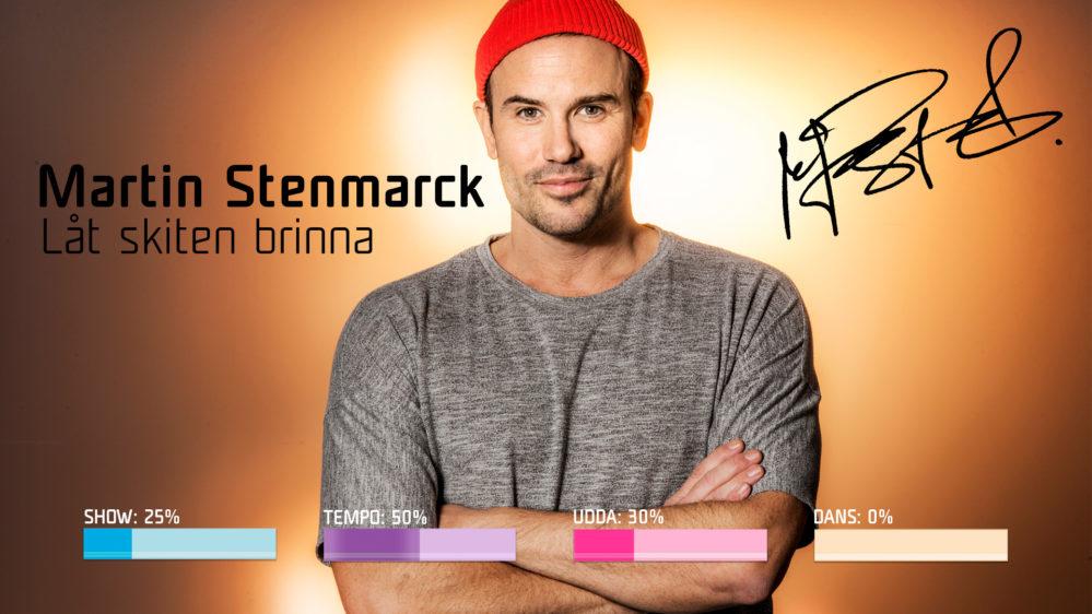 "Bidragsbibeln: Martin Stenmarck med ""Låt skiten brinna"" i Melodifestivalen 2019"