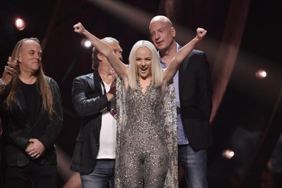 Anna Bergendahl toppar jämn publikundersökning inför Andra chansen i Melodifestivalen 2019