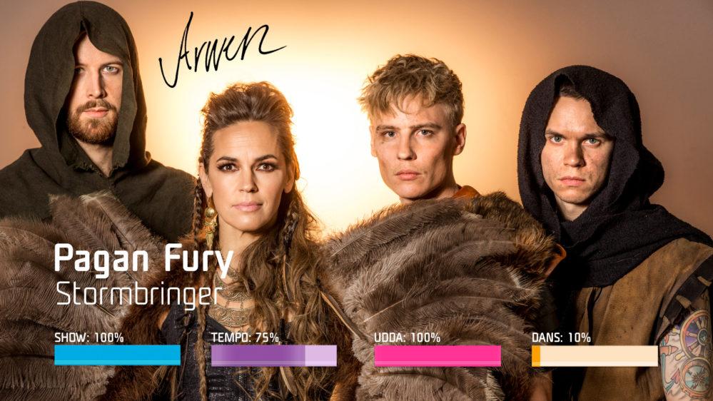 "Bidragsbibeln: Pagan Fury med ""Stormbringer"" i Melodifestivalen 2019"