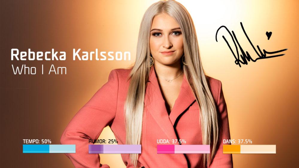 "Bidragsbibeln: Rebecka Karlsson med ""Who I Am"" i Melodifestivalen 2019"