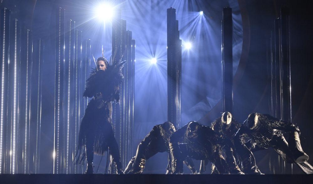 Känsliga tittare i Melodifestivalen varnas för Pagan Fury