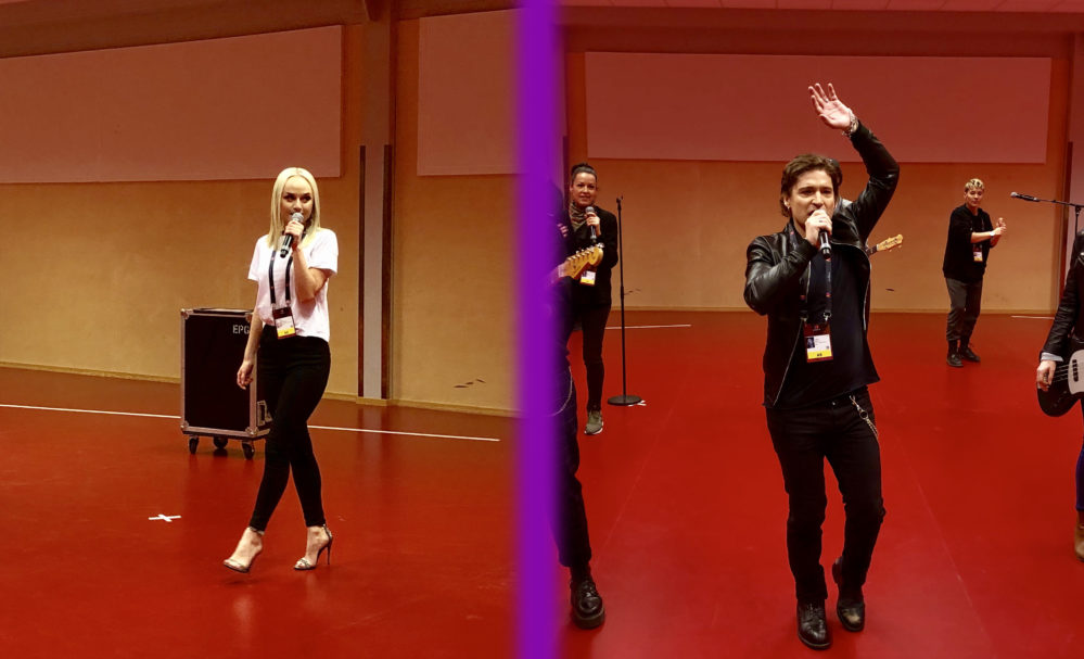 Andreas Johnson mot Anna Bergendahl: Andra chansen-duell 1 i Melodifestivalen 2019