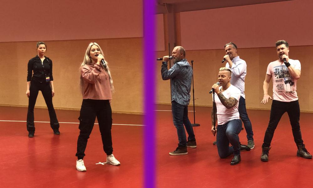 Rebecka Karlsson mot Arvingarna: Andra chansen-duell 4 i Melodifestivalen 2019