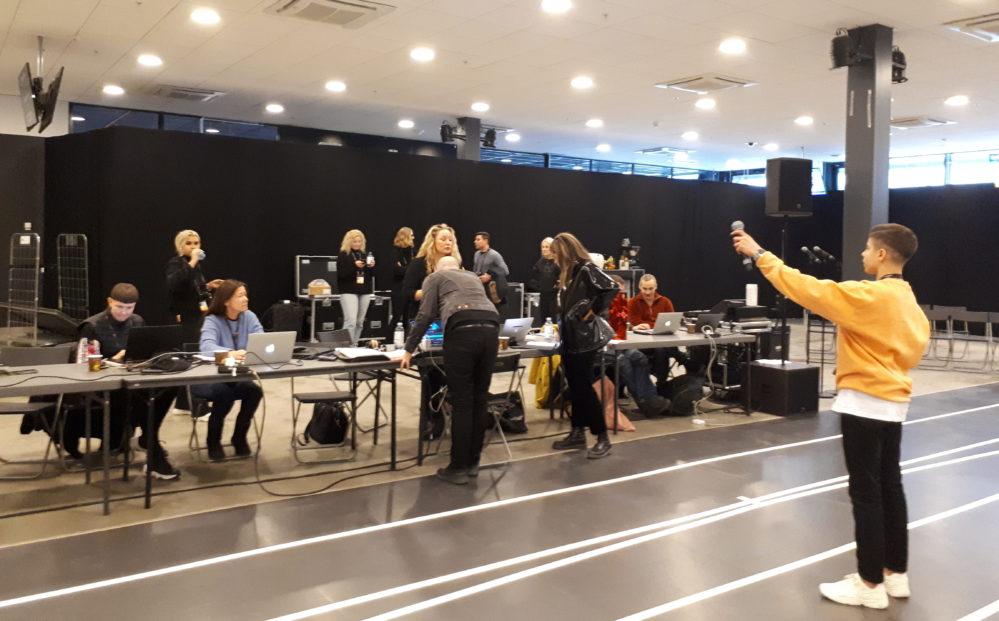 Lina Hedlund, Bishara och Anna Bergendahl: Backstagerepen inför Melodifestivalen 2019-finalen