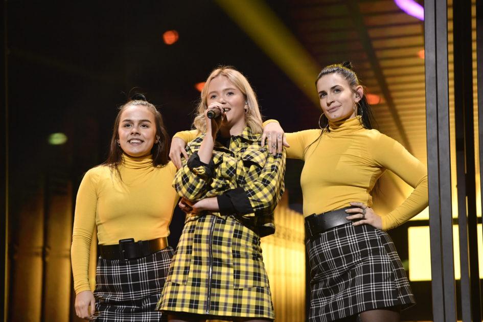 Första glimten av Melodifestivalen 2020: De backar upp artisterna på scen i Linköping