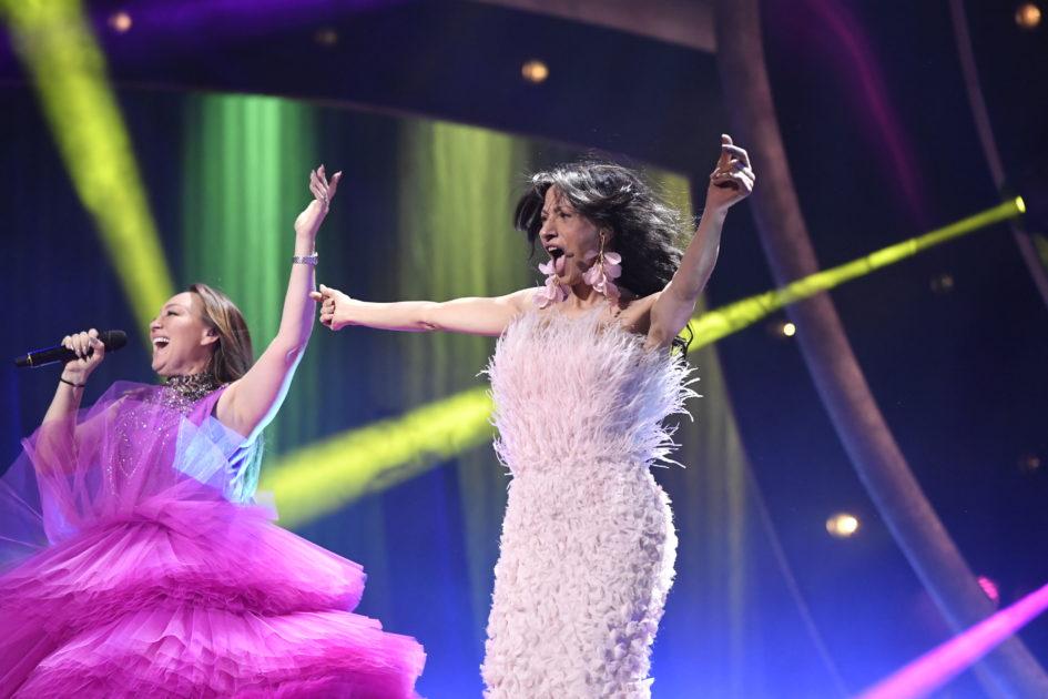 Charlotte Perrelli och Dana International klara för final i Melodifestivalen 2019