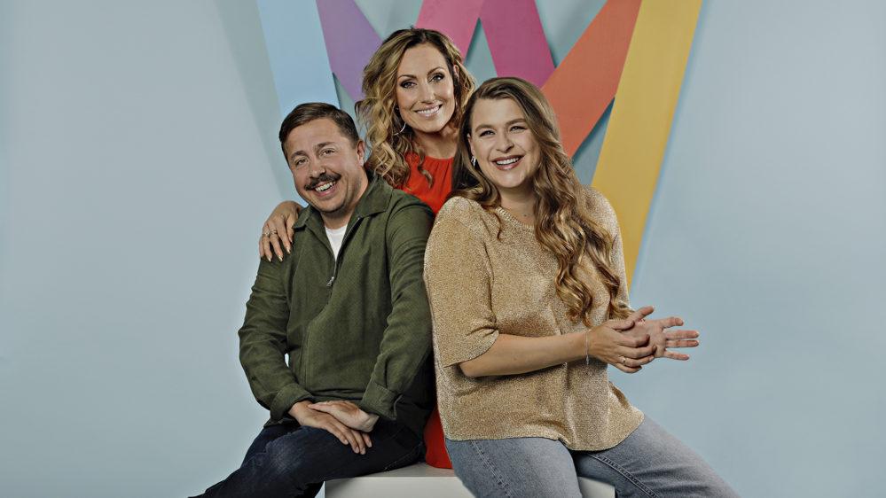 Lina Hedlund, Linnea Henriksson och David Sundin blir programledare för Melodifestivalen2020