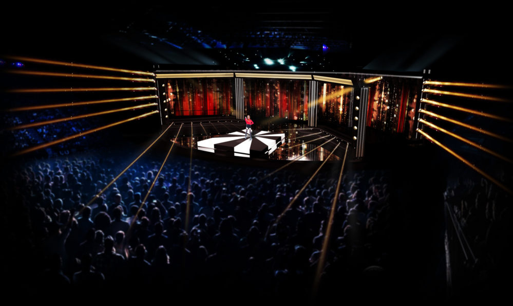 Scenen växer i Melodifestivalen 2020
