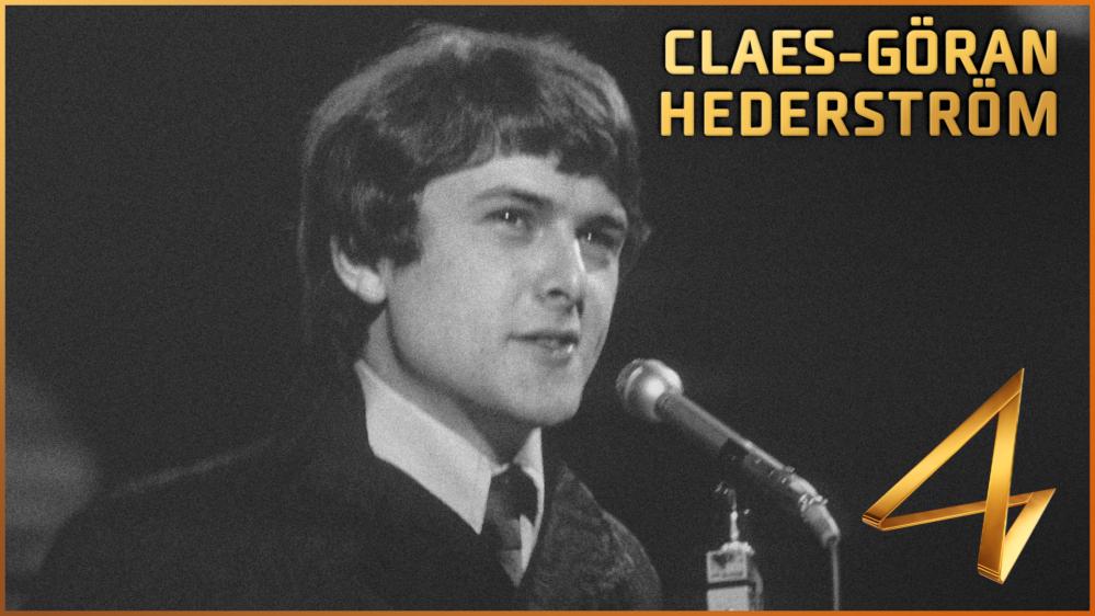 Claes-Göran Hederström väljs in i Melodifestivalens Hall of Fame