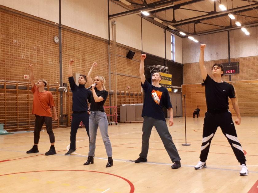 Så var artisternas dolda repetitioner inför Melodifestivalen 2020 i Göteborg