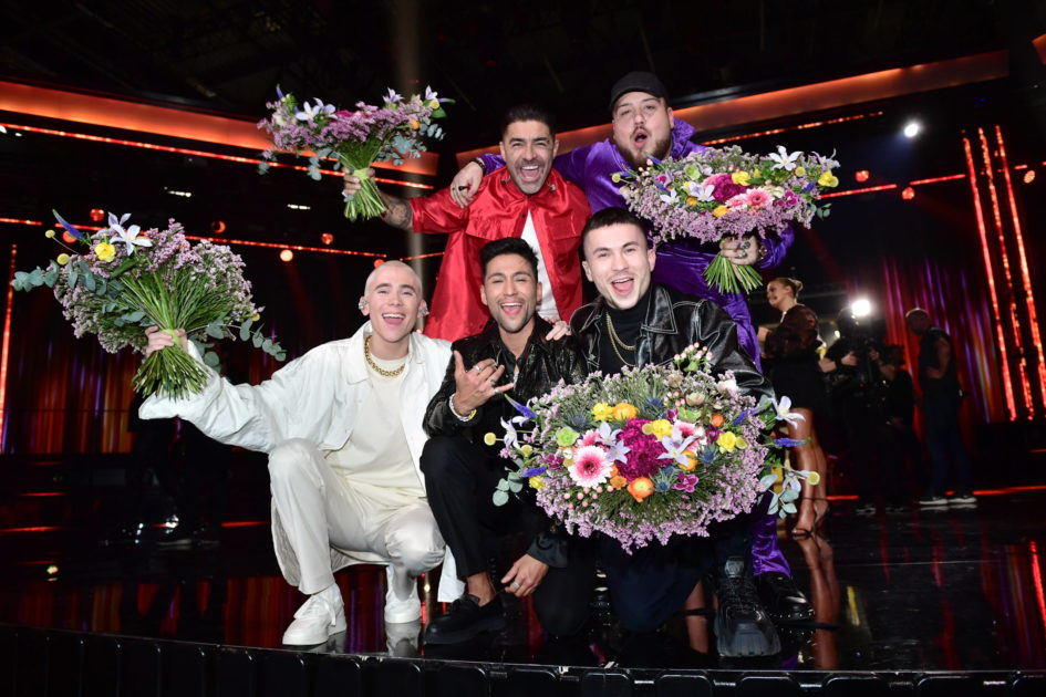 Anis Don Demina, Paul Rey, Felix Sandman och Mendez feat. Alvaro Estrella till final från Andra chansen i Melodifestivalen2020