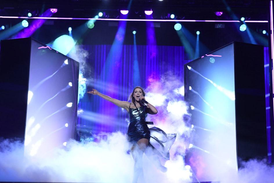 Snabbkoll på artisternas första test på scen inför Melodifestivalen 2020 i Malmö Arena
