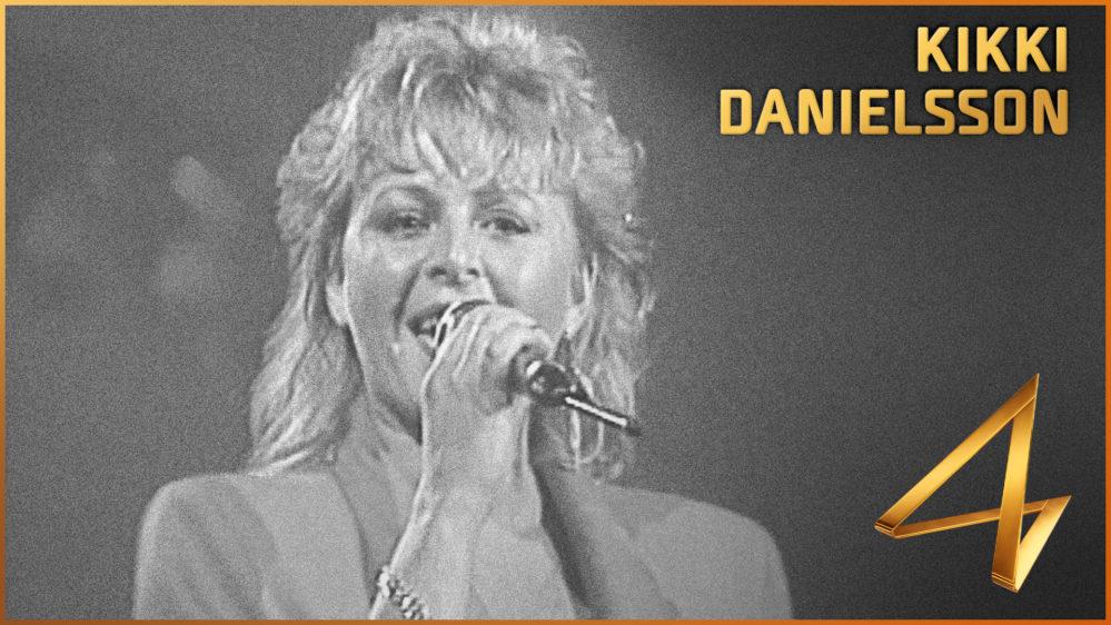 Kikki Danielsson väljs in i Melodifestivalens Hall of Fame