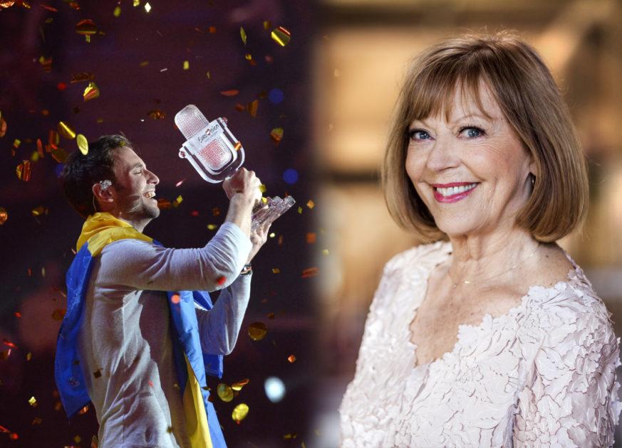 Måns Zelmerlöw och Lill Lindfors gör duett i Melodifestivalens Hall of Fame-gala