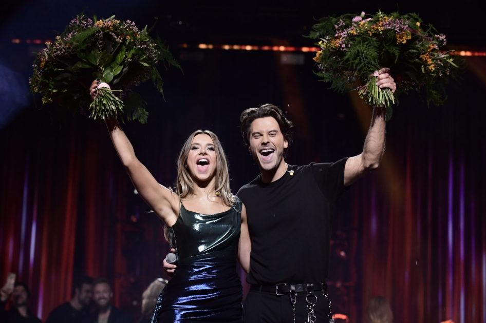Hanna Ferm och Victor Crone till final i Melodifestivalen2020