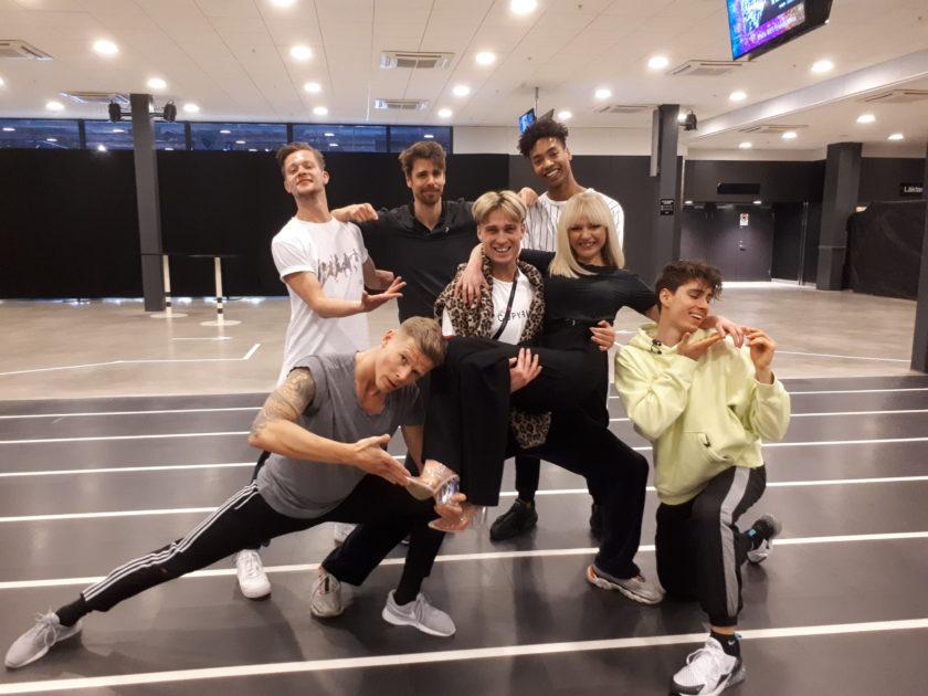 Artisterna vässar finalformen: Så var första repetitionerna i arenan inför Melodifestivalen