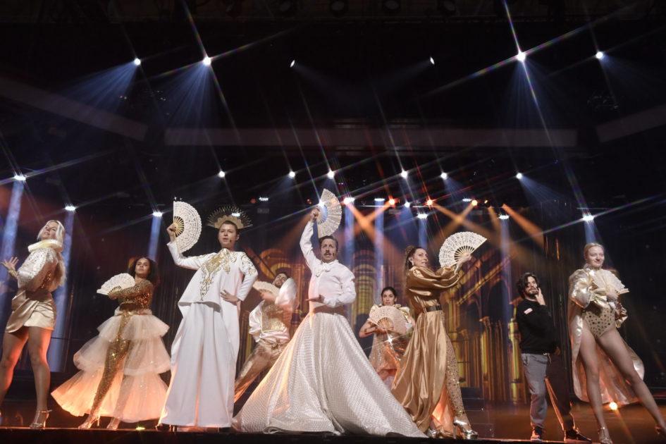 Rapport från arenan: De dolda repetitionerna inför finalen av Melodifestivalen 2020