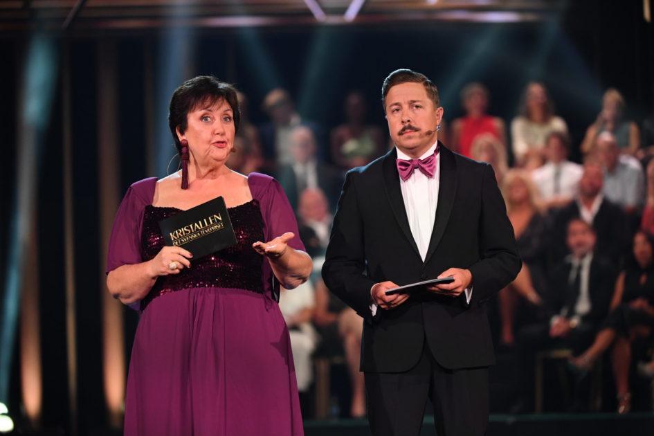 Babben Larsson intar scenen i finalen av Melodifestivalen 2020 – så blir programmet