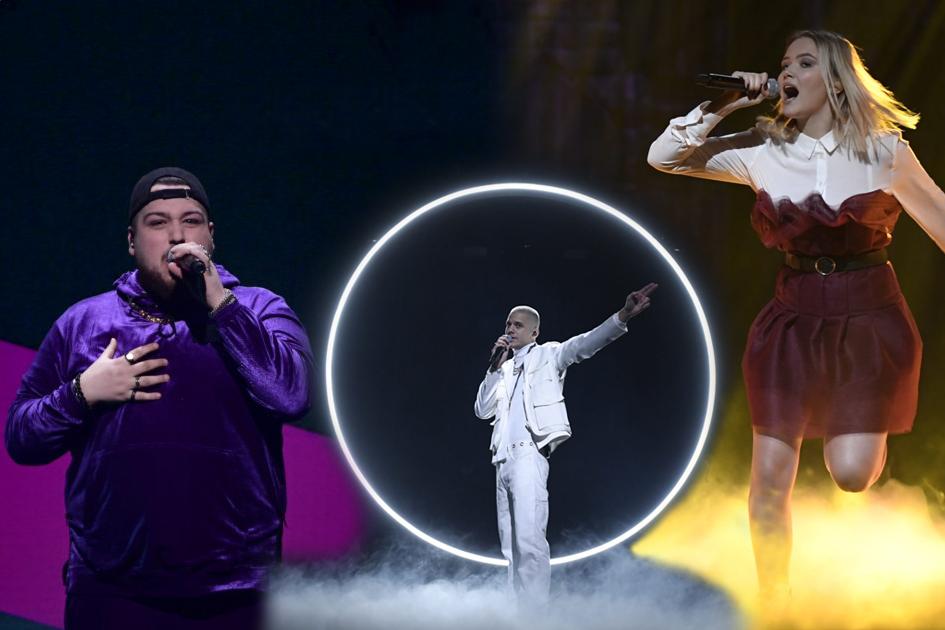 Se röstningssiffrorna från Melodifestivalen 2020