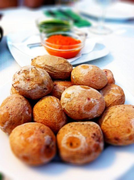 Saltkokt potatis