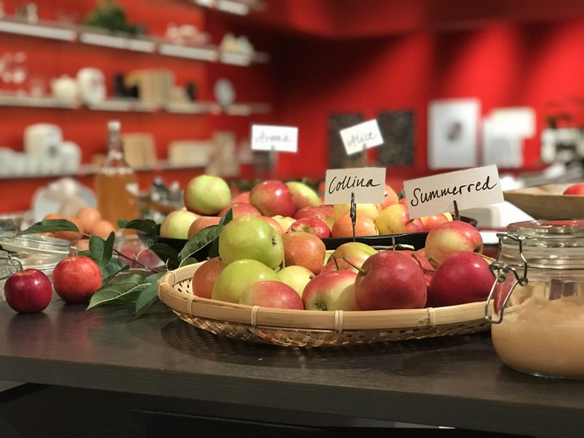 Mauds äpplen